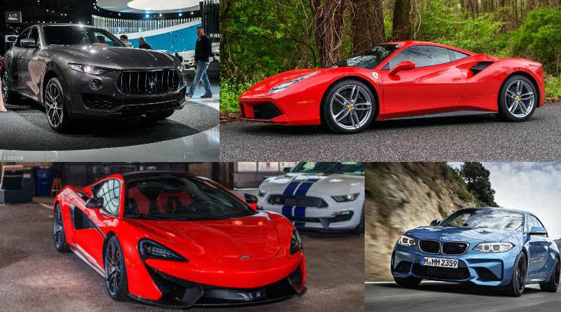 10 รถหรูเข้าชิง Car of the year 2017 สุดยอดยานยนต์แห่งปี