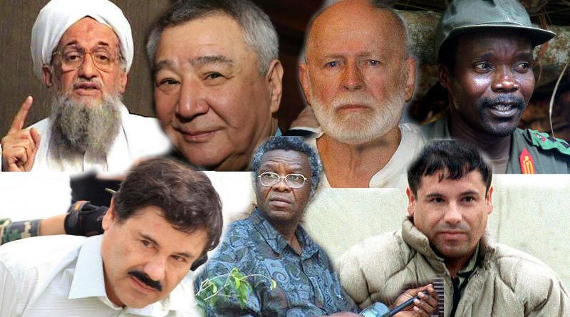 10 บุคคลอันตราย ที่ถูกหมายหัวมากที่สุดในโลก