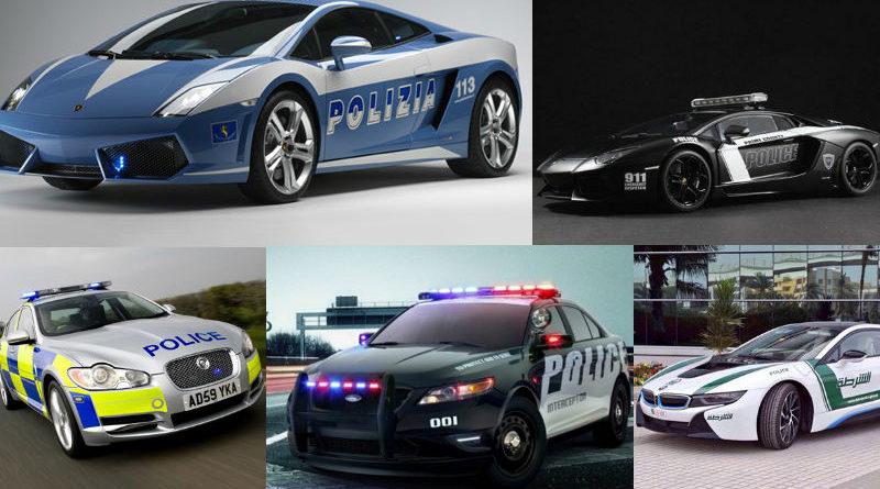 ถึงคราวผู้ร้ายจนมุม! 10 อันดับรถตำรวจเครื่องแรง เร็วที่สุดในโลก