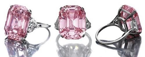 เครื่องเพชร แพง, แหวนเพชร The Graff Pink