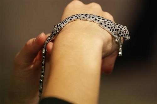 เครื่องเพชร แพง, สร้อยข้อมือเพชร Wallis Simpson's Panther Bracelet