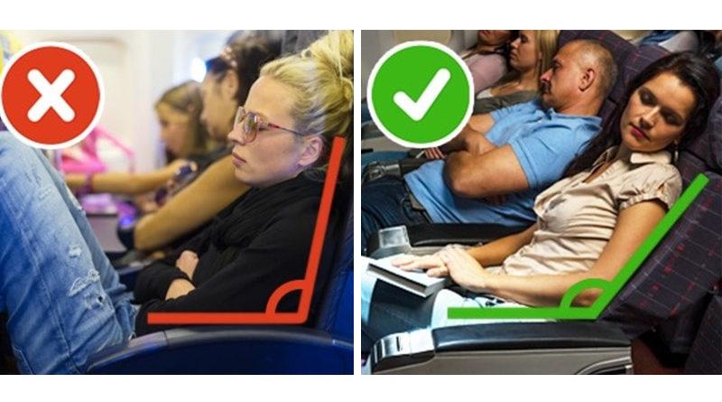 น้องนอนไม่หลับ9เคล็ดลับนอนหลับบนเครื่องบิน