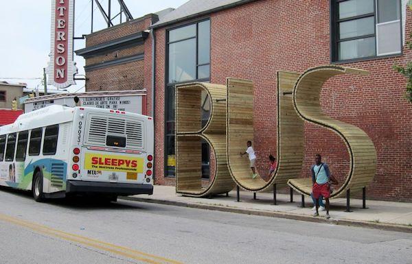 ป้ายรถเมล์-Baltimore