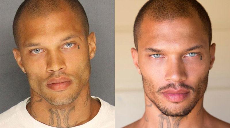 Jeremy-Meeks-นายแบบอดีตนักโทษชาย-ภาพตอนถูกจับและภาพตอนเป็นนายแบบ