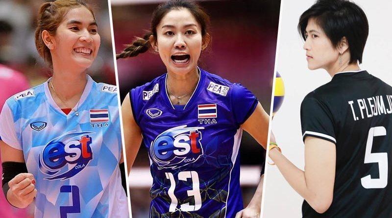 ความภูมิใจของชาติ 10 นักวอลเลย์บอลเลือดไทย ที่คนไทยตาม IG มากที่สุด