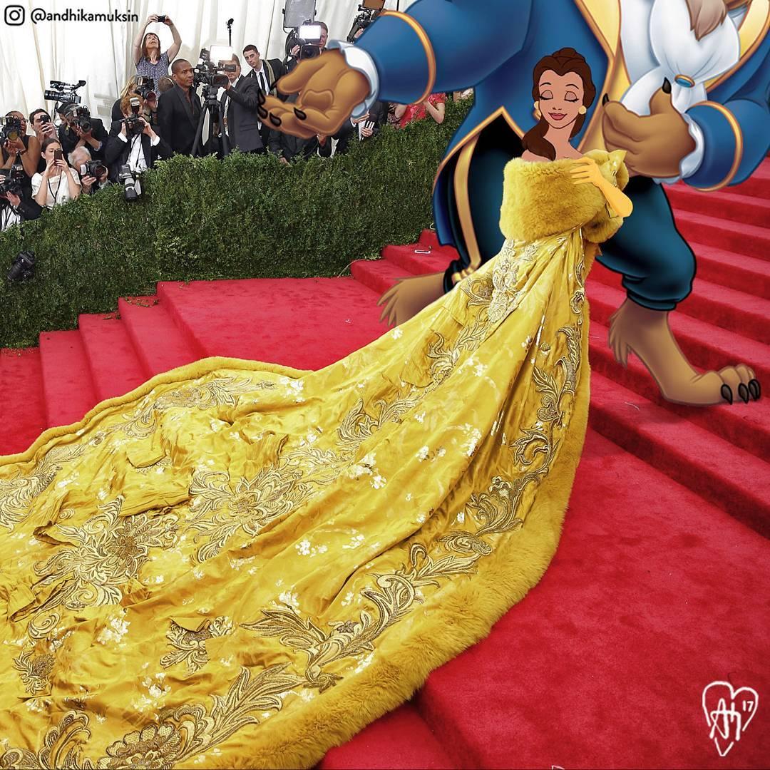 Belle - Beauty and The Beast เดินพรมแดง