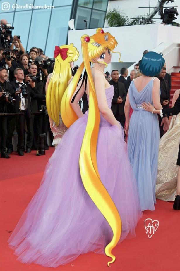 Sailor Moon เดินงานพรมแดง