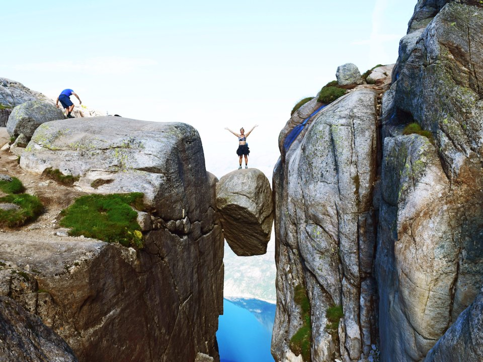 Kjeragbolten, Kjerag Mountain, Norway