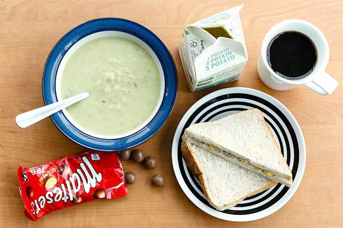 อังกฤษ-มื้อเที่ยง